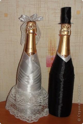 Бутылки на свадьбу Страна Мастеров