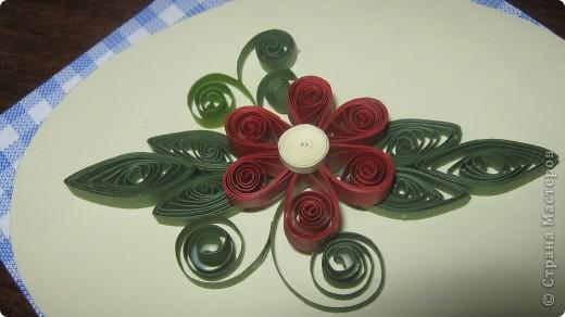 как же я рада что научилась делать такие петельчатые цветы и листья .. первый - беленький немного корявенький - а второй- голубой ,просто красавец!!  сама себя хвалю!!!благодарю всех мастериц ..за подсказки и главное ссылки ..!! фото 3