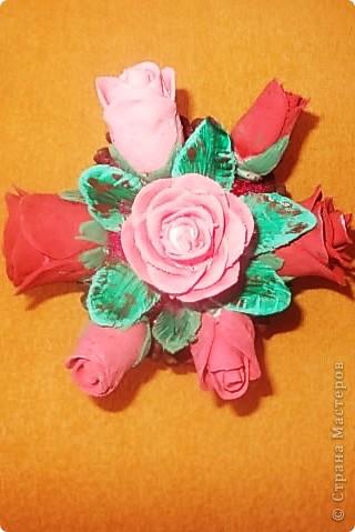 Розовые розы фото 8
