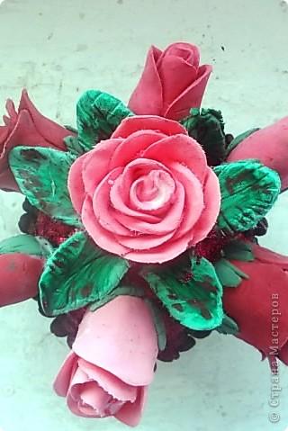 Розовые розы фото 7