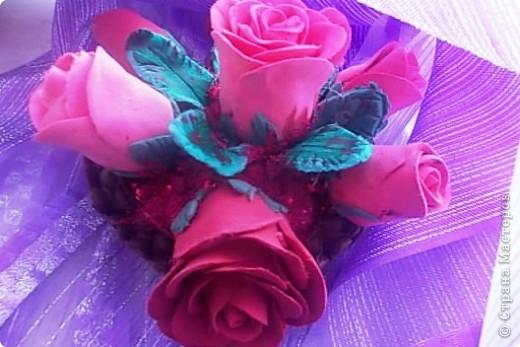 Розовые розы фото 3