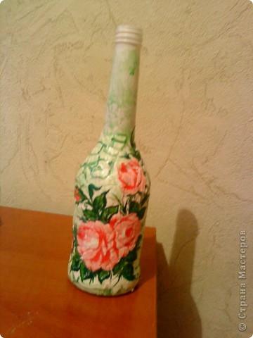 Год декупаж декупаж бутылок салфетки