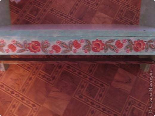 Было две обычных кроватки для кукол, покрашенных салатовым цветом и вот что в итоге получилось.  Фото в интерьере дет.сада фото 7
