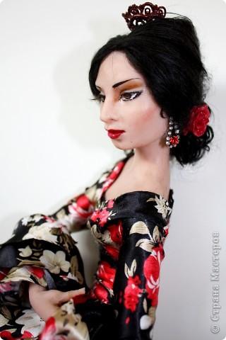 """Кукла из пластика """"Фламенко"""" фото 1"""