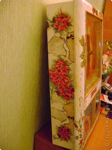 И часы и ключница,немнго мне кажется переборщила с декором... фото 4
