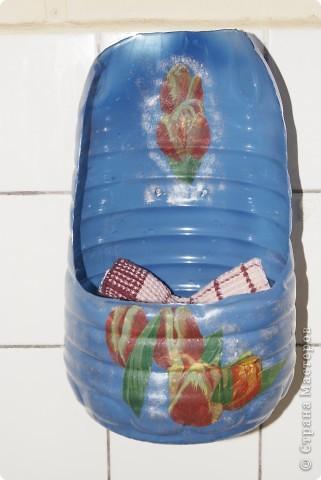 Пластиковый карман для полотенец