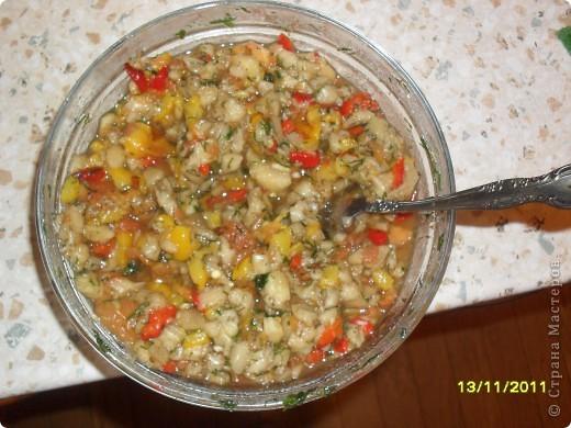 Девочки, здравствуйте! Хочу показать Вам замечательную закусочку под шашлычок и не только. Вкусно и низкокаллорийно. Берем овощи: перец, баклажаны и помидоры. фото 11