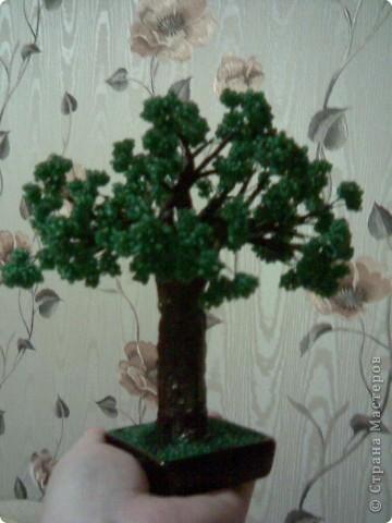 Мои деревья из бисера-3.