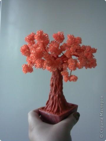 Бисероплетение - Мои деревья -15 из бисера.