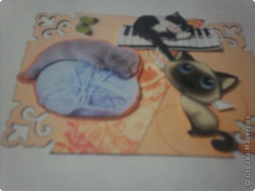 Карточки сделаны для АТС-игры Елены Гайдаенко. Лена, спасибо! 1. Гармония. Для фона использована калька и распечатка с нотами и музыкальным инструментом. фото 4