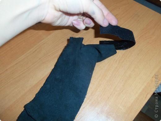 пошив кожанной юбки