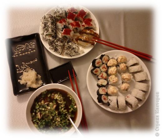 Любителям японской кухни посвящается =) Мисо-суп из морепродуктов. Обожаю его! Ингридиенты, конечно, специфические, в простом магазинчике не купишь, но если постараться, то можно найти =) фото 8