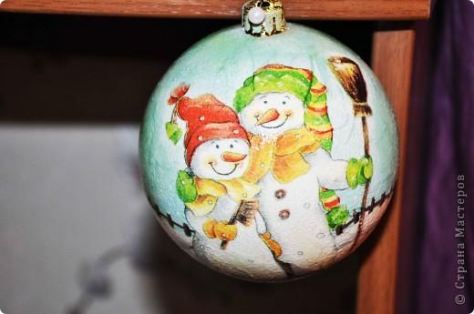 Новогодние шары - это как часть новогодней сказки, и когда создаешь их ощущаешь причастность к волшебству ))) фото 1