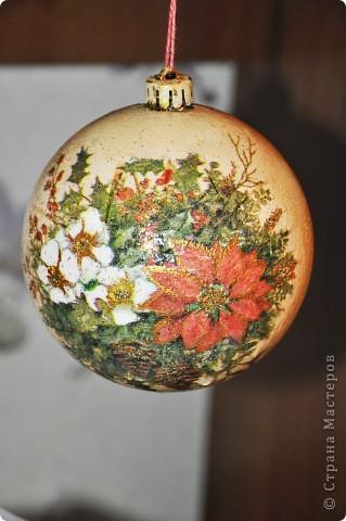 Новогодние шары - это как часть новогодней сказки, и когда создаешь их ощущаешь причастность к волшебству ))) фото 2