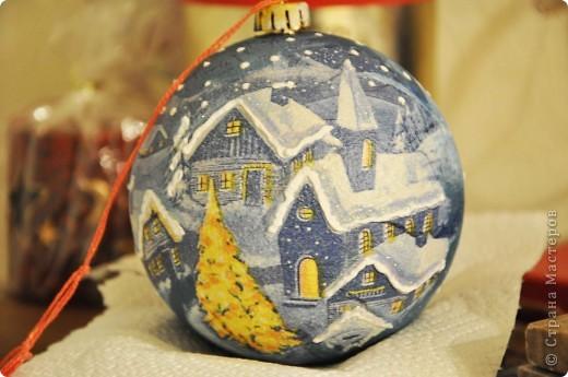 Новогодние шары - это как часть новогодней сказки, и когда создаешь их ощущаешь причастность к волшебству ))) фото 3