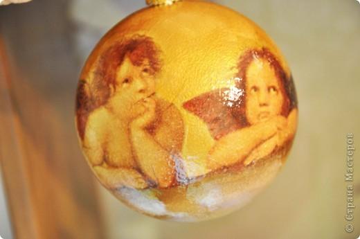 Новогодние шары - это как часть новогодней сказки, и когда создаешь их ощущаешь причастность к волшебству ))) фото 4