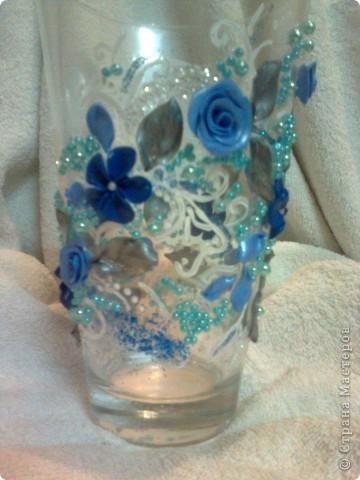 декорирование ваз. фото 2