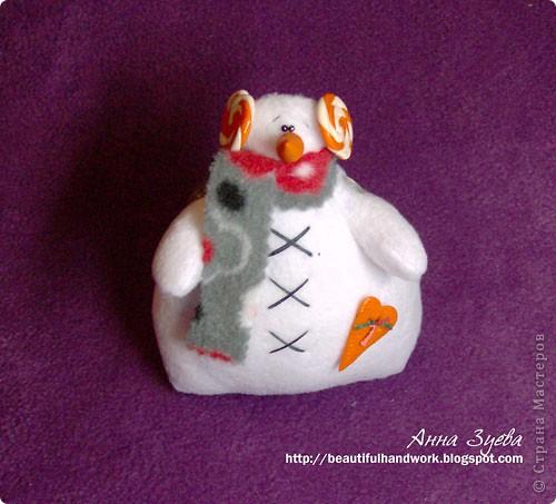 Снеговик Тильда+ссылка на МК фото 1