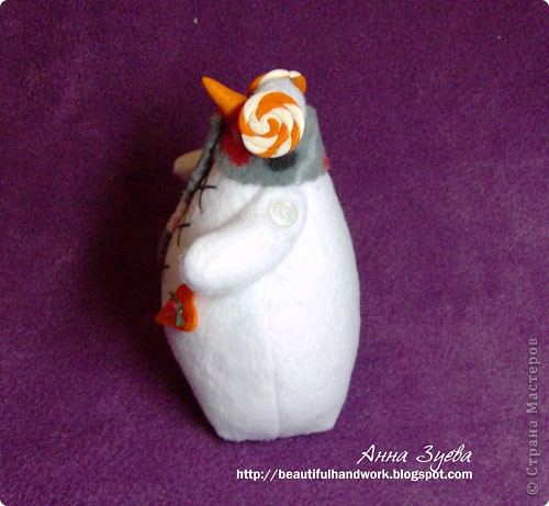 Снеговик Тильда+ссылка на МК фото 2