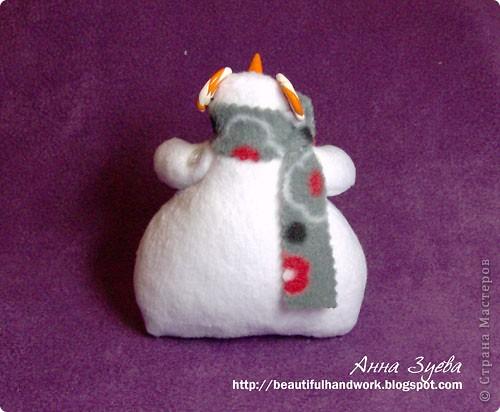 Снеговик Тильда+ссылка на МК фото 4