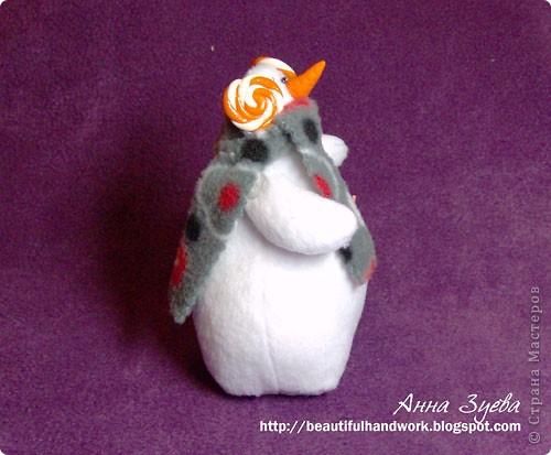 Снеговик Тильда+ссылка на МК фото 3