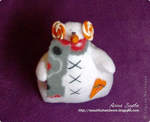 Снеговик Тильда+ссылка на МК фото 5