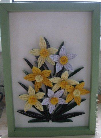 Нарциссы по МК MaryBond фото 1