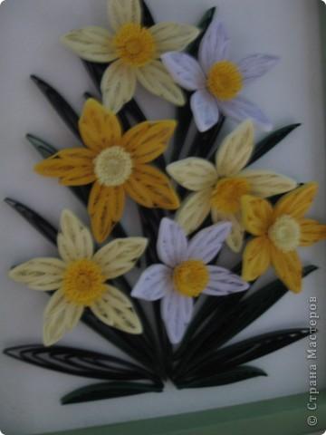 Нарциссы по МК MaryBond фото 2