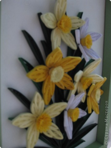 Нарциссы по МК MaryBond фото 3