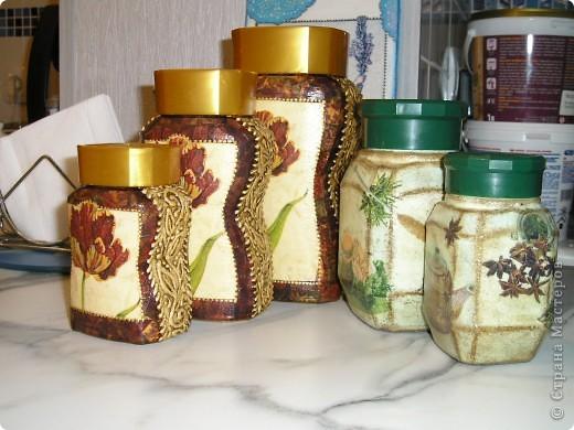 Декор банок для кухни своими руками