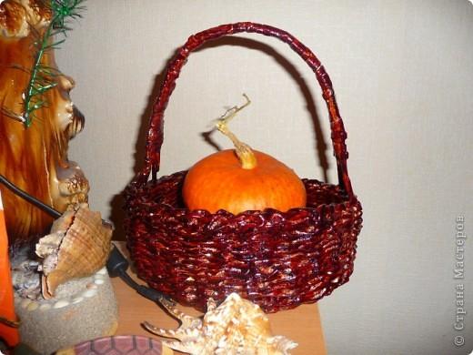 Осенняя корзинка