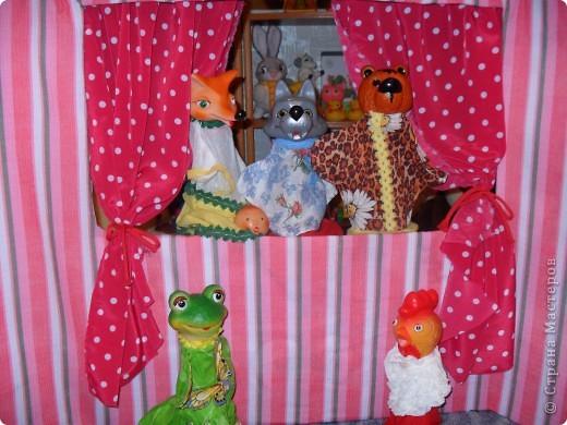 ширма для кукольного театра фото 2
