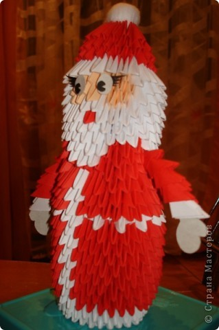 модульное Дед Мороз и