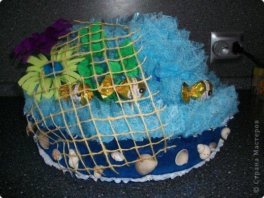 """Вот ОНА - моя красавица, моя золотая рыбка! Сделала я такую рыбку специально для своего папочки на День Рождение. Он любит у меня рыбалку и, как говорится, """"Плох тот рыбак, который не мечтает поймать золотую рыбку"""" )))) Поменяла фон, все-таки фон имеет большое значение! фото 40"""