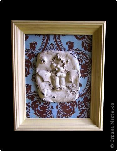 """Гипсовая картина """"Дикий виноград"""" фото 2"""