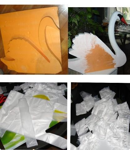 Идею этих лебедей взяла тут:  https://stranamasterov.ru/node/187501#comment-2792501 Вот результат! Спасибо автору за идею. Лебедей делала на свадьбу младшей сестренки как украшение на машину. фото 4