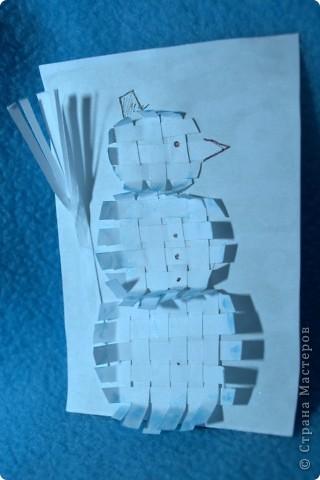 В серии 6 штук со снеговиками из различных материалов. фото 6