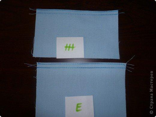 Кошелек в подарок.МК по просьбе Герберочки и Гаврюши. Чтобы сшить кошелек необходимо: джинсовая ткань,цветная ткань,однотонная ткань,чтобы сочеталась с тканями.Уплотнитель для ткани,флизофикс(паутинка ), магнитная кнопка и молния. 1.Выкроить из джинсы детали А - 13,5 х 23 см.  - 2 шт. Б - 11,5 х 23 см. - 1 шт. В - 11,5 х 7,7 см. - 1 шт. Г - 11,5 х 9 см. - 1 шт. Д - 11,5 х 6,5 см. - 1 шт. Выкроить из джинсы клапан 10  х 4 см. - 2 дет. Выкроить из однотонной ткани детали Е -11,5 х 20,3 см. - 1 шт. Ж - 11,5 х15,2 см. - 1 шт. фото 9