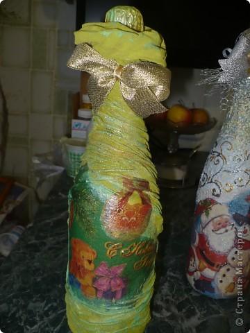 Очень понравилось оформлять бутылочки, но а солёное тесто тоже не хочу бросать...РАЗРЫВАЮСЬ..... фото 2