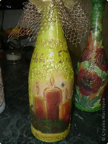 Очень понравилось оформлять бутылочки, но а солёное тесто тоже не хочу бросать...РАЗРЫВАЮСЬ..... фото 5