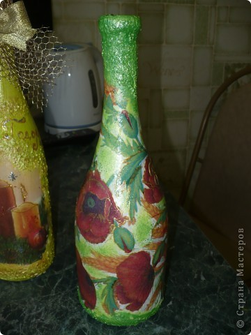 Очень понравилось оформлять бутылочки, но а солёное тесто тоже не хочу бросать...РАЗРЫВАЮСЬ..... фото 7