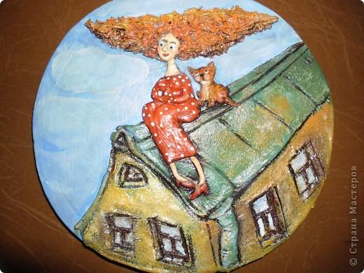 Как всегда, по мотивам моей любимой художницы Виктории Кирдий. Как же мне нравятся её работы!!! фото 1