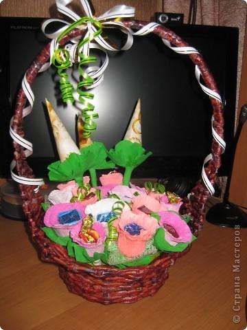 сладкая корзиночка фото 3