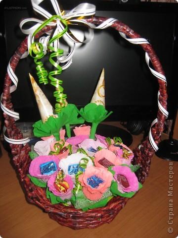 сладкая корзиночка фото 1