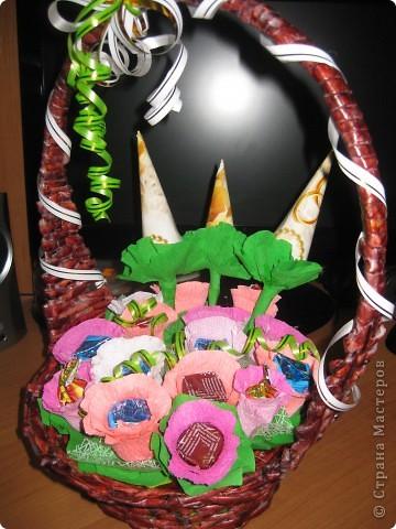 сладкая корзиночка фото 2