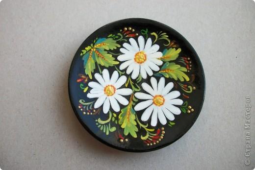 росписная тарелочка фото 1