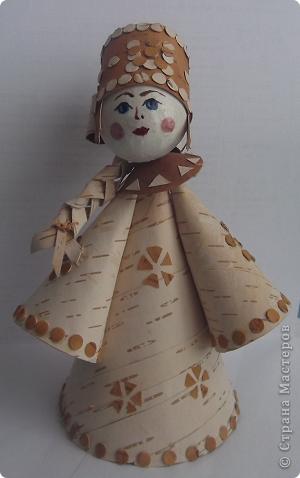 куколка из бересты.