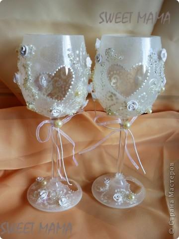 Мои свадебные бокальчики. фото 14