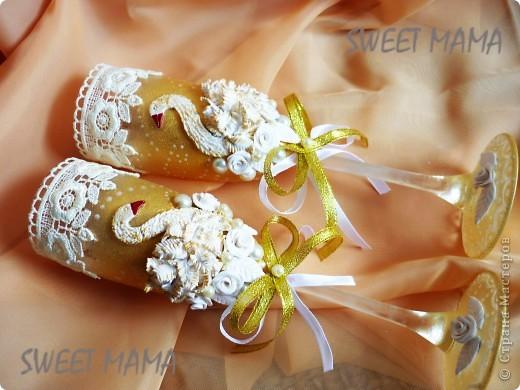 Мои свадебные бокальчики. фото 9