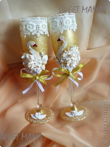 Мои свадебные бокальчики. фото 8